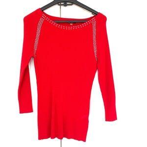 Vila Milano Vibrant Red Blouse